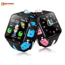 Smart Waterproof Kids Child Student Watch GPS LBS Location Tracker Remote Camera Monitor Support TF Card Phone Watch Smartwatch