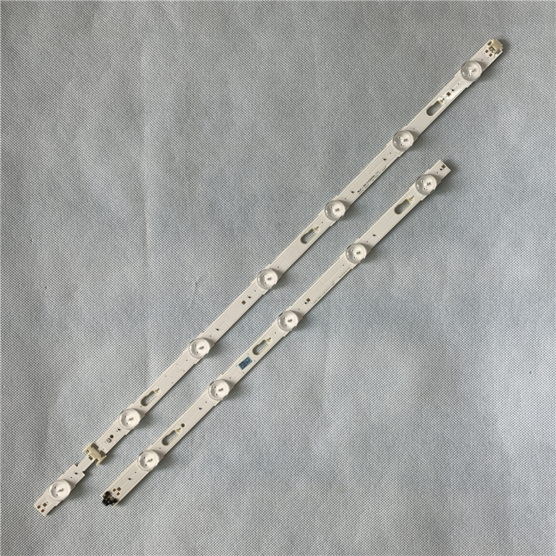 2PCS LED Backlight Strip 5+7 Lamps For Samsung 49 Inch TV E306084 MU6100-49INCH-R/L-7/5EA-170724/170713-4*1 Anode  Tv Parts