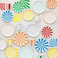 Event Party Supplies 69pcs/bag birthday party decorations parti malzemeleri Disposable tableware set assiette jetable anniversai