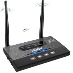 VIKEFON Bluetooth 5.0 récepteur sans fil musique Audio adaptateur pour TV PC AptX HD faible latence optique RCA 3.5mm prise AUX
