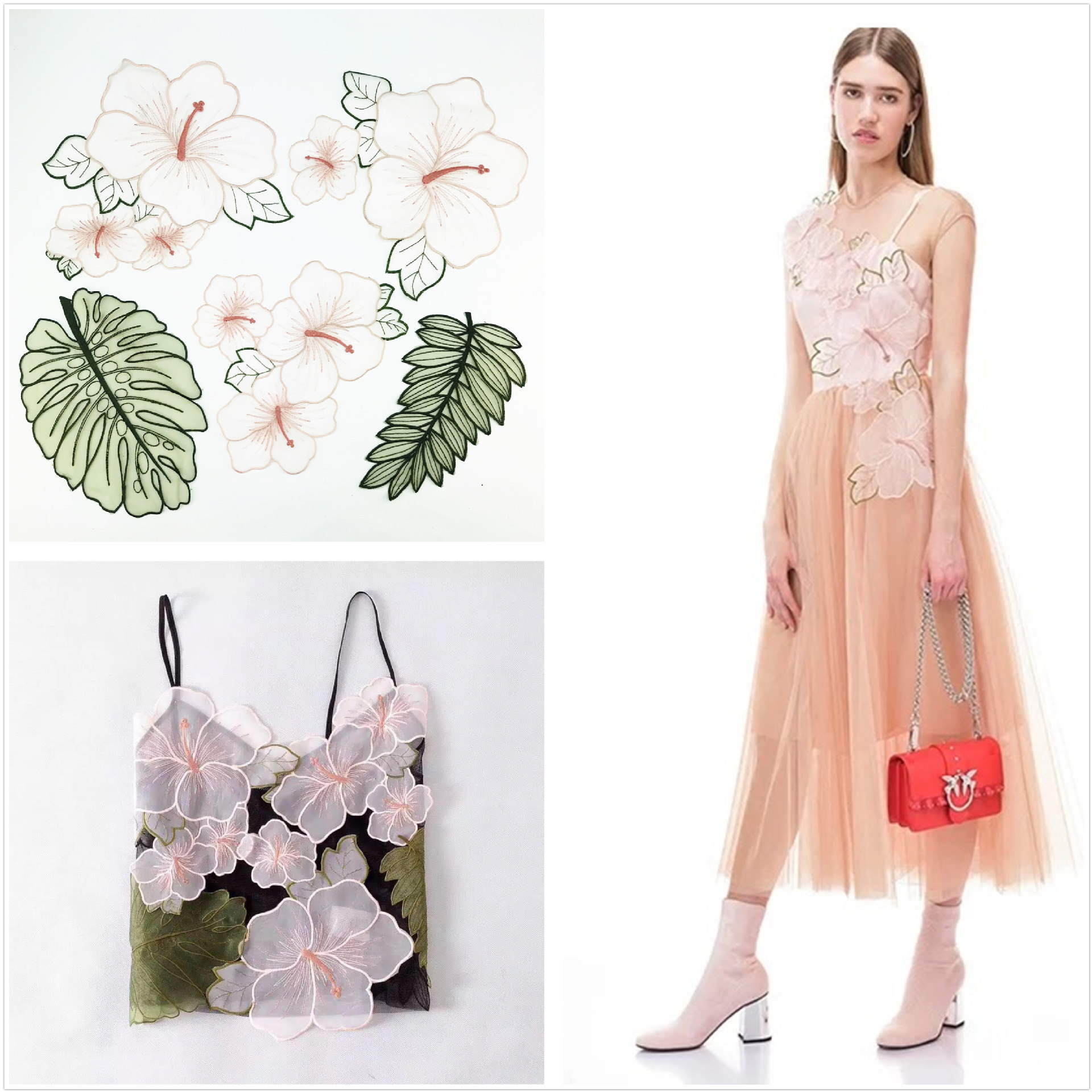 2009 Explosion Lace Transparent Mesh Embroidery Cloth Sticker Eugene Yarn Diy Decorative Patch Sticker Clothing Sticker