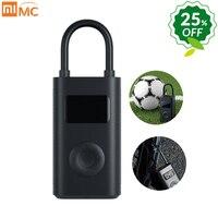Xiaomi Mi Mijia Portable Smart Digital Tire Pressure Detection Electric Inflator Pump For Bike Motorcycle Car Football