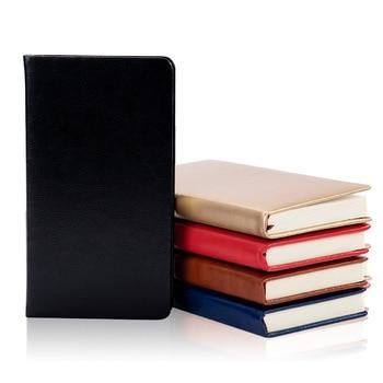 цена 1pcs High quality Business PU Leather Notebook Creative A6 Student Diary Book Colors Notepad Stationery Office School Supplies онлайн в 2017 году