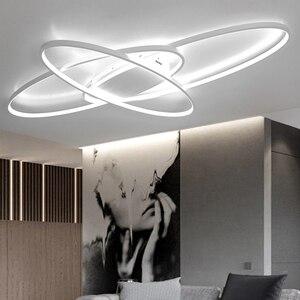 Image 3 - LICAN lustre Lustres Iluminação Para sala de estar Casa Dezembro plafonnier Avize Luminarine iluminação Lustre de Teto luz Branca