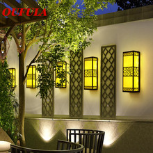 Outdoor Wall Lamps Waterproof Modern Light Contemporary  Creative New Design Balcony Courtyard  Corridor  Villa Duplex Hotel