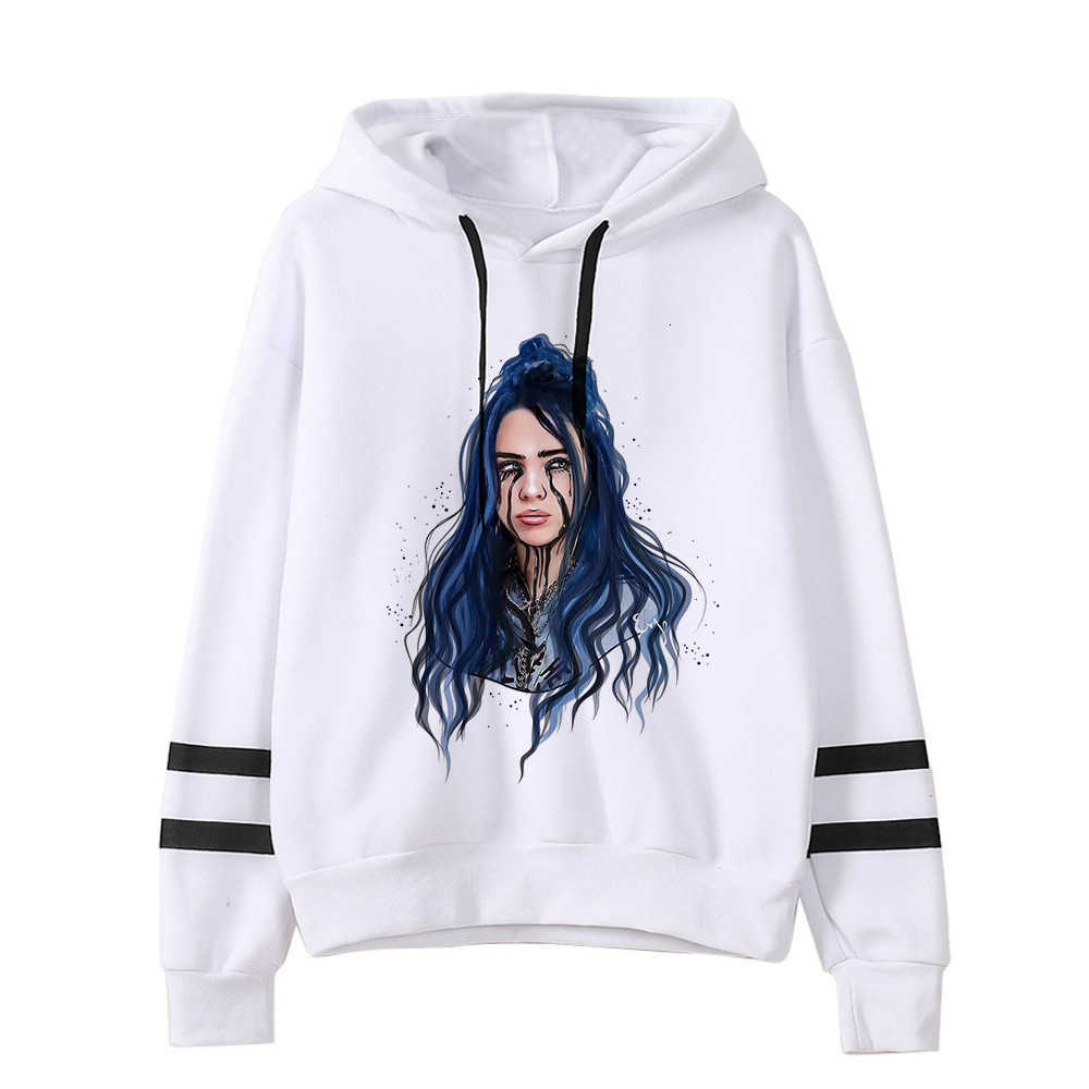 Billie Eilish Hoodies 남성/여성 funny hip hop 패션 kawaii 스웨트 그래픽 하라주쿠 90s Tumblr hooded streetwear male