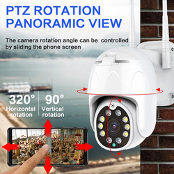 1080P PTZ IP Camera Outdoor Waterproof WIFI Wireless Camera Auto Tracking Home Security Speed Dome Camera