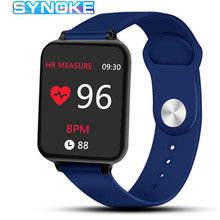 Smart Watches Men Sports Bluetooth Heart Rate Blood Pressure Monitoring Message Reminder Women Smart Watch For IOS Android