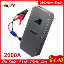 Car-Charger Car-Battery-Booster Power-Bank Starting-Device Jump-Starter 2000A 24000mah-Car
