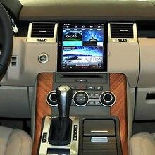 Jogador dos multimédios da navegação de gps do carro para o esporte 2004-2013 da faixa de land rover unidade principal do rádio do carro do andróide autoradio tela táctil hd