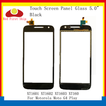 цена на 10Pcs/lot Touch Screen For Motorola Moto G4 Play XT1601 XT1602 XT1603 Touch Panel Digitizer Sensor Front Outer LCD Glass Lens