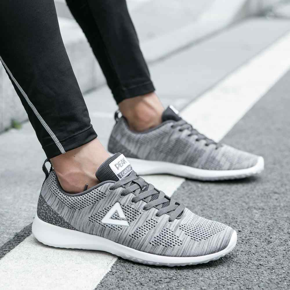 Tepe koşu ayakkabıları spor tenis ayakkabıları nefes alabilen tekstil ayakkabı erkek spor ayakkabılar konfor eğitim ışık koşu ayakkabıları