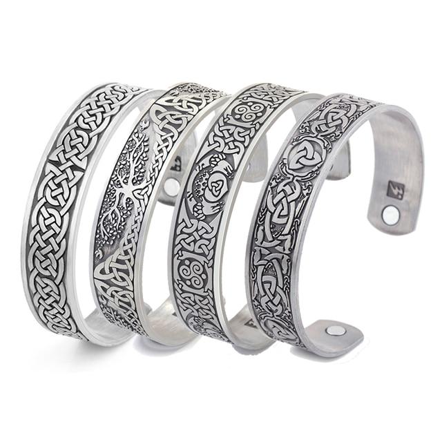 Bracelet de santé arbre de vie chance noeud Runes 1