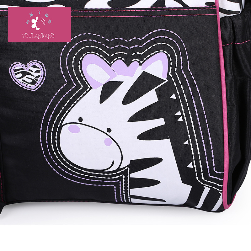 Hot Sales Fashion Cartoon Mommy Bag Maternity Package Shoulder Mummy Bag Large Capacity Multi-functional Mummy Bag