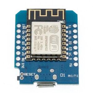 Image 4 - 10pcs D1 mini   Mini NodeMcu 4M bytes Lua WIFI Internet of Things development board based ESP8266 WeMos