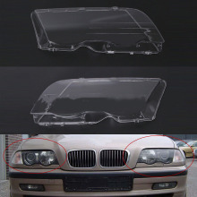 Автомобильный головной светильник, крышка для BMW E46 98-01, автомобильный левый и правый налобный фонарь, головной светильник, крышка объектива, автомобильные аксессуары