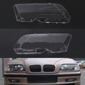 Image 1 - Car Headlight Cover For BMW E46 98 01 Automobile Left Right Headlamp Head Light Lens Covers Auto Accessories