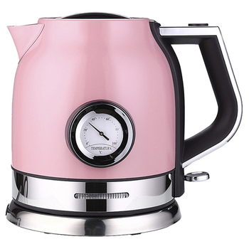 1.8L 304 Stainless Steel Electric Kettle with Water Temperature Control Meter Household Quick Heating Electric Tea Pot UK Plug