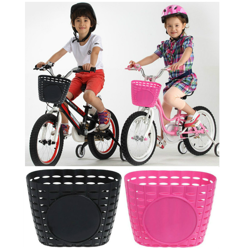 Durable Scooter Handlebar Storage Basket Children Kids Bicycle Tricycle Holder