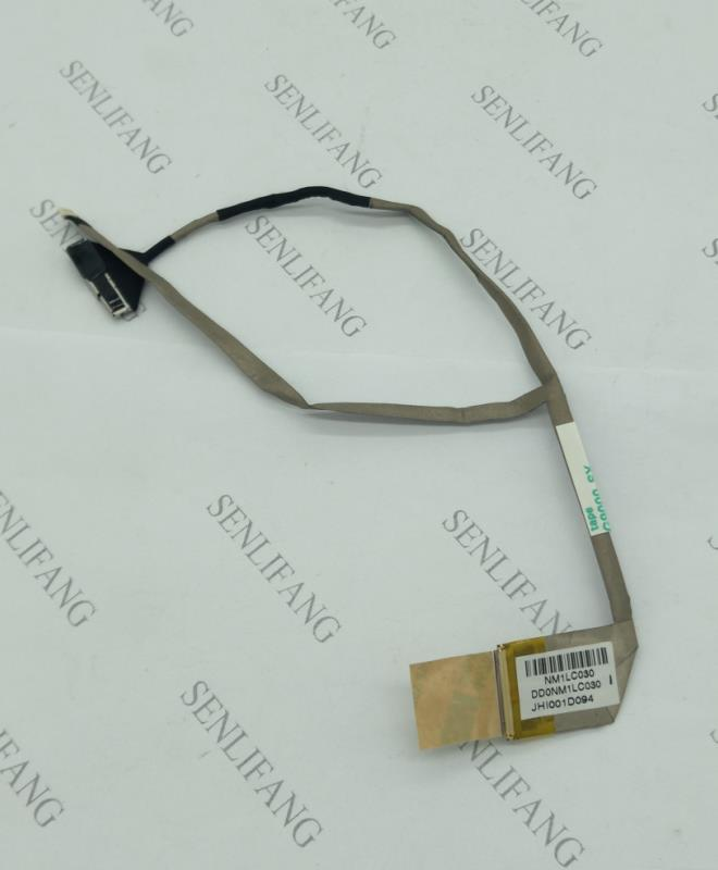 For Genuine  Laptop Screen LCD/LCD Cable FOR HP Mini 210 Mini 210-3000 MINI 210-4000 DD0NM1LC030 DD0NM1LC000 Free Shipping