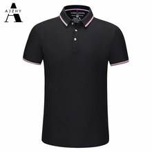 Casual Cotton Polo Shirt Men Fashion Solid Polo Summer Brands Polo Shirts Women Breathable Golf Jersey Sports Tops Mens Clothing(China)