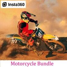 Insta360 pacote da motocicleta para um x/um r câmera de ação acessórios esportivos profissionais