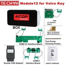 Yanhua Mini ACDP Module12 Volvo anahtar programlama desteği ekle anahtar ve tüm anahtar kayıp 2009 2018