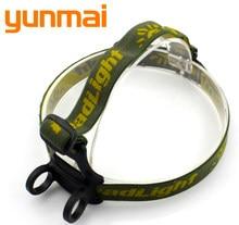 Z0-Cinturón de cabeza para linterna, banda elástica de plástico, 22- 35mm, 2 en 1, linterna de linterna led para cabeza, linterna para camping