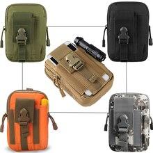 Военная Сумка Molle, тактический поясной ремень, сумка для спорта на открытом воздухе, водонепроницаемая сумка для телефона, мужская повседневная сумка для EDC, инструмент, карманный охотничий рюкзак