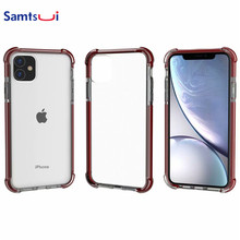 Samtsui Four Corners Anti-Knock Case For Iphone11 Iphone11Pro Iphone11ProMax Back Cover iPhoneXMAX XR XS 6S 7 8P Capas Coque