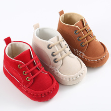 Meckior Baby Shoes Newborn Toddler Boy Girl Solid Cotton Com