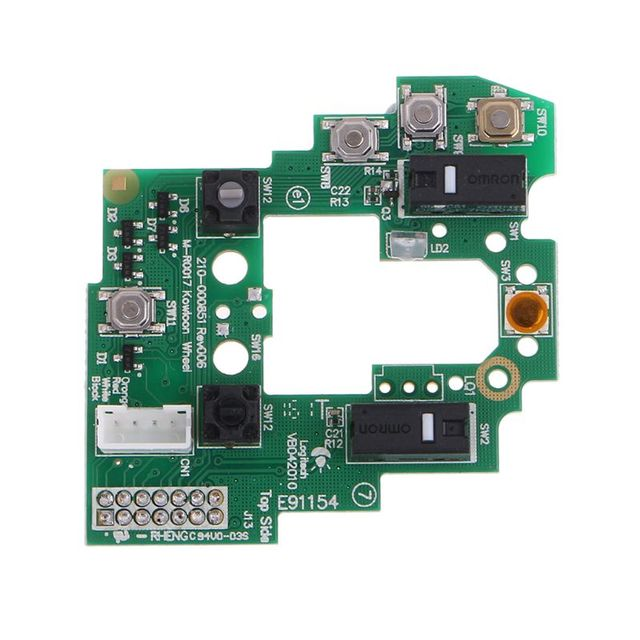 Mouse Motherboard Upper Motherboard Key Board for Logitech G700 G700S Gaming Mouse 5