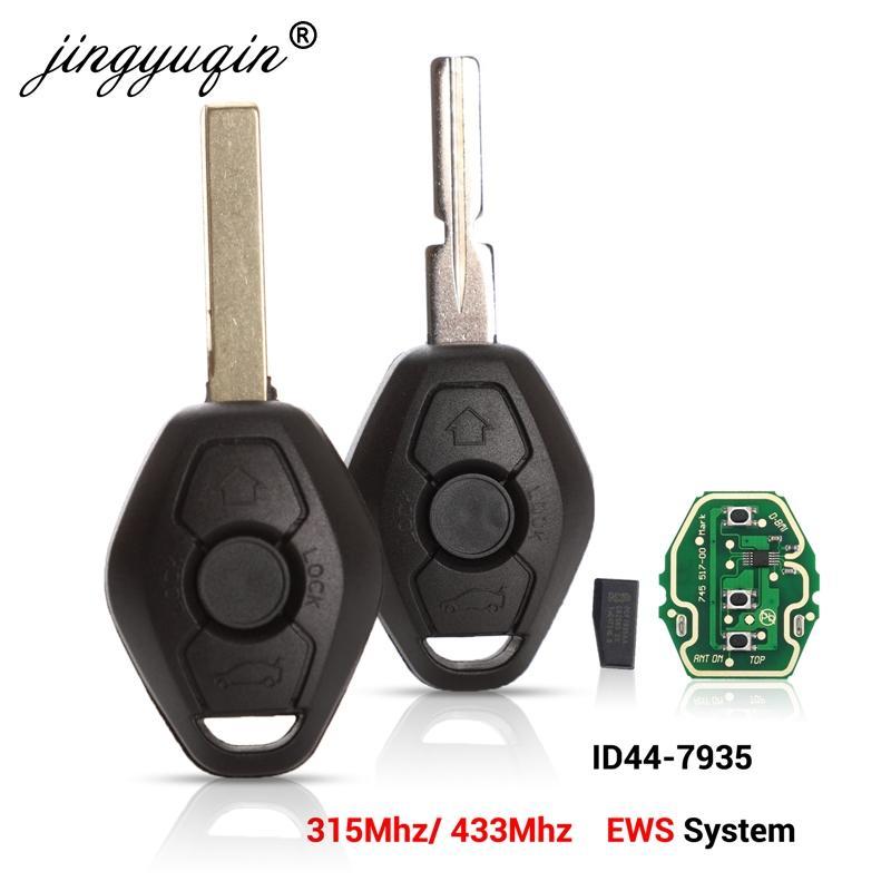 Car-Remote-Key Keyless-Entry-Transmitter Id44 Chip 315/433mhz Jingyuqin Bmw E38 EWS