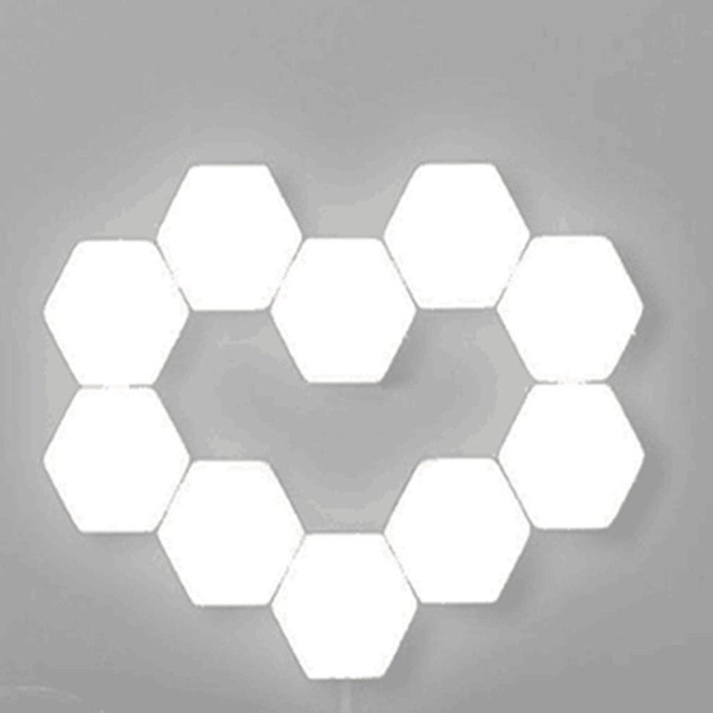 Creative Background Wall Decoration Lamp Living Room Bedroom Atmosphere Lamp 3 Lamps Quantum Lamp Honeycomb Lamp