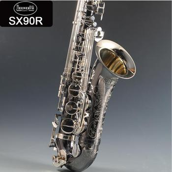 95 kopia niemcy JK SX90R Keilwerth saksofon tenorowy ophone czarny saksofon tenorowy Top profesjonalny instrument muzyczny z przypadku darmowa wysyłka tanie i dobre opinie Bakelitu Spada dostroić b (c) Mosiądz Niklowane