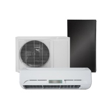 CE CB TUV certificate 24000btu air conditioner solar powered system with factory price marsrock 7000w ac220v dc48v 24000btu inverter air conditioner cooling heating hybrid for home on grid solar air conditioner