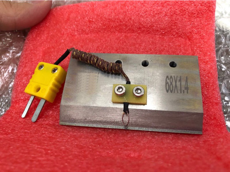 68 * 1.4mm ACF Tab Cof Bonding Head For  LCD TV Screen Repair Machine Hot Press Cutter Head