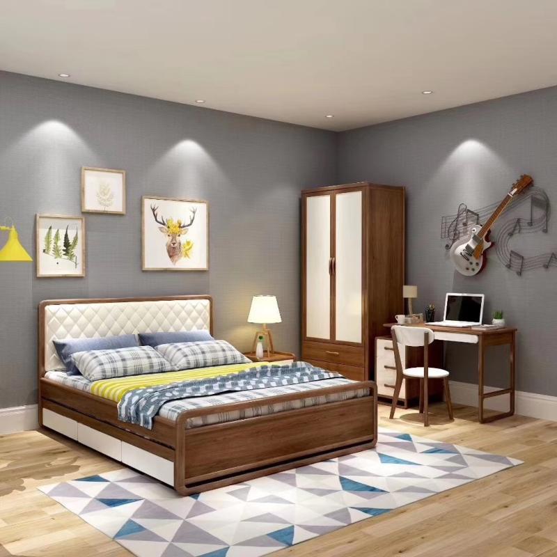 foshan ensemble de meubles pour chambre d enfants maison moderne en bois offre speciale