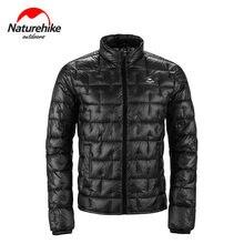 Naturehike 10D Nylon Ultralight Outdoor dół kurtki płaszcz 1000FP mężczyźni kobiety jesienno-zimowa zewnętrzna chłodne pozbawiające tchu ochrona utrzymać ciepło
