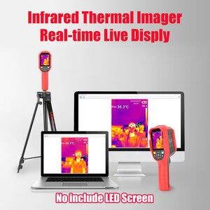 Image 4 - UNI T UTi165K HD الأشعة تحت الحمراء كاميرا تصوير الحرارية الطابق التدفئة الكاشف نطاق درجة الحرارة 10 درجة مئوية ~ 400 درجة مئوية 2.8 بوصة شاشة TFT