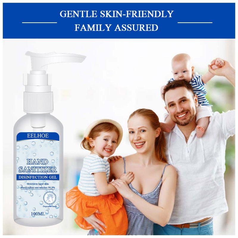 100ml,50ml,30ml Hand Sanitizer Gel Disposable Alcohol Free Portable Moisturizing Disinfectant Hand Soap X7YB
