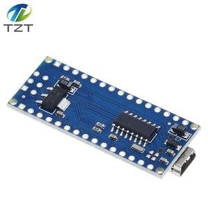 Image 2 - 10PCS Promotion Funduino Nano 3.0 Atmega328 Controller Compatible Board for Arduino Module PCB Development Board NANO V3.0
