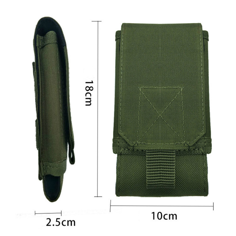 Tactical Bag Camouflage Bag Tactical Army Phone Holder Sport Waist Belt Case Waterproof Nylon Sport Hunting Military Backpack