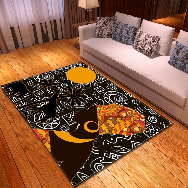 African Woman 3d Printing Carpets For Living Room Bedroom Large Area Rugs For Child Room Play Tent Floor Mats Home Decor Big Rug Carpet Aliexpress