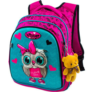 New 3D Cartoon Children School Bag For Girls Owl Pattern Kids Backpacks Orthopedic Backpack School Bags For Boy A4 Book Bag 2020 new pattern national geographic ng a5290 camera bag backpacks video photo bags for camera backpacks bags