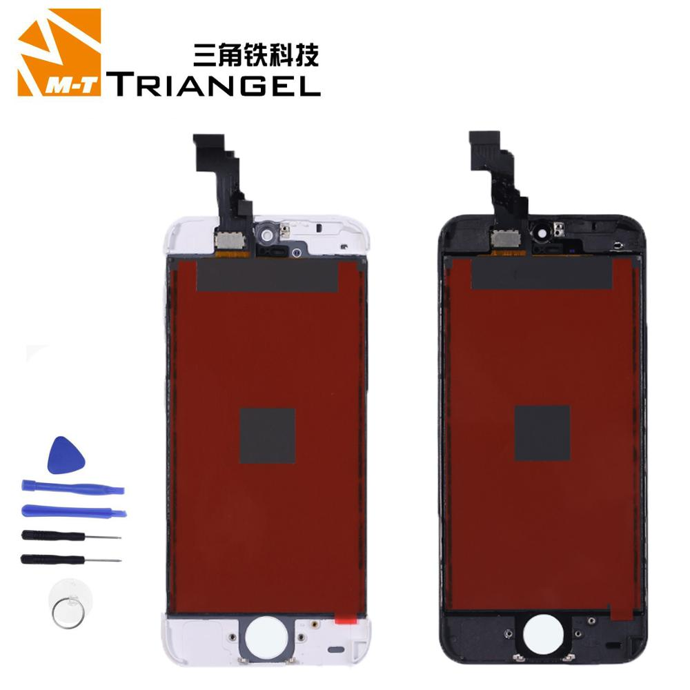Quality LCD Display For iPhone 6 Touch Screen Replacement For iPhone 5 5c 5s SE LCD Refurbish No Dead Pixel Tempered Glass image