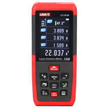UNI-T Digital Laser Distance Meter Range Finder Diastimeter UT395B 70m/229ft Handheld LCD Distance Area Volume Measurement new uni t ut390b laser range finder distance meter area volume lcd meter 0 05m 45m