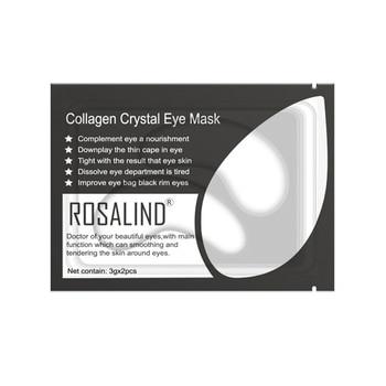 1 Pair Gold Collagen Eyes Mask Gel Eye Patches Remove Eye Bags Wrinkle Dark Circles Anti Aging Moisturizing Eye Skin Care TSLM2 1