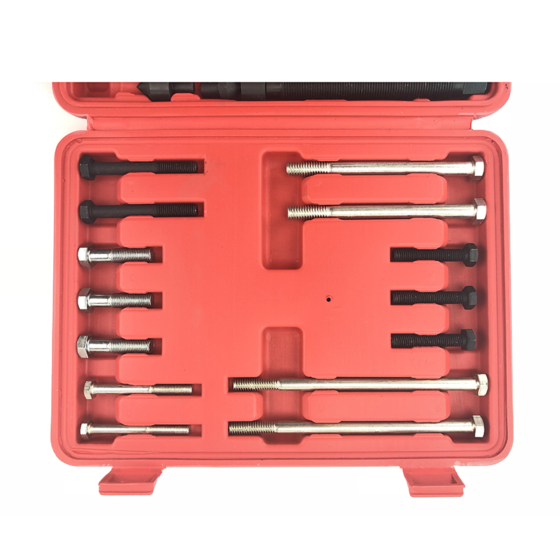 46 Pcs Harmonic Balancer Puller Gear Puller Crank Shaft Pulley Steering Wheel Kit Pulley Yoke Crank Storage Case/…
