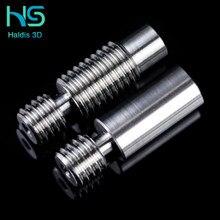 Rotor de calor para e3d, bloqueo para o grau de conforto suave de 1.75mm, en aleación de titanio, nuevo y gran calidad